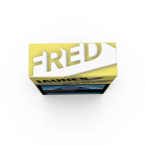 fred Jaune LE top