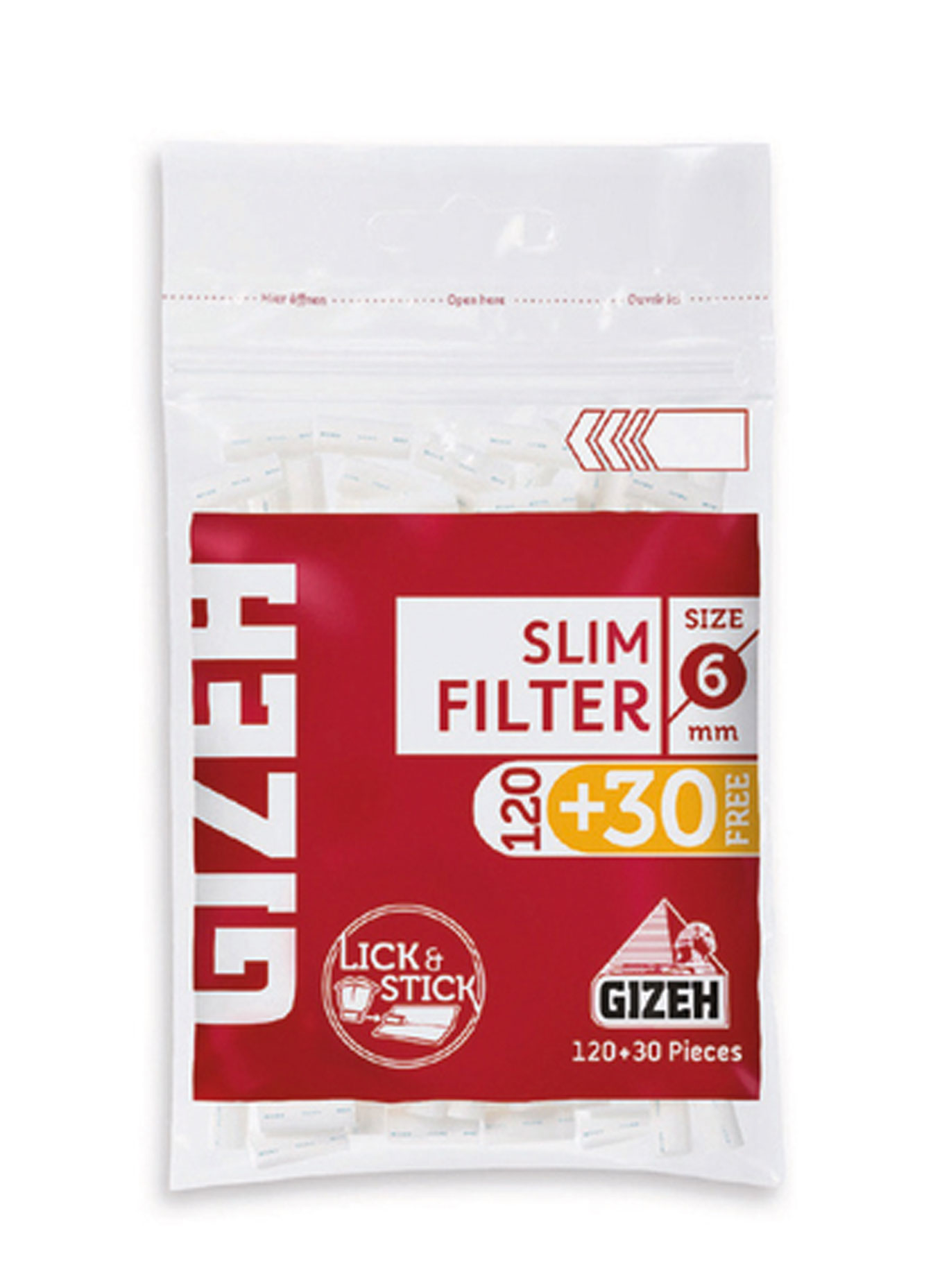Gizeh Slim Filters