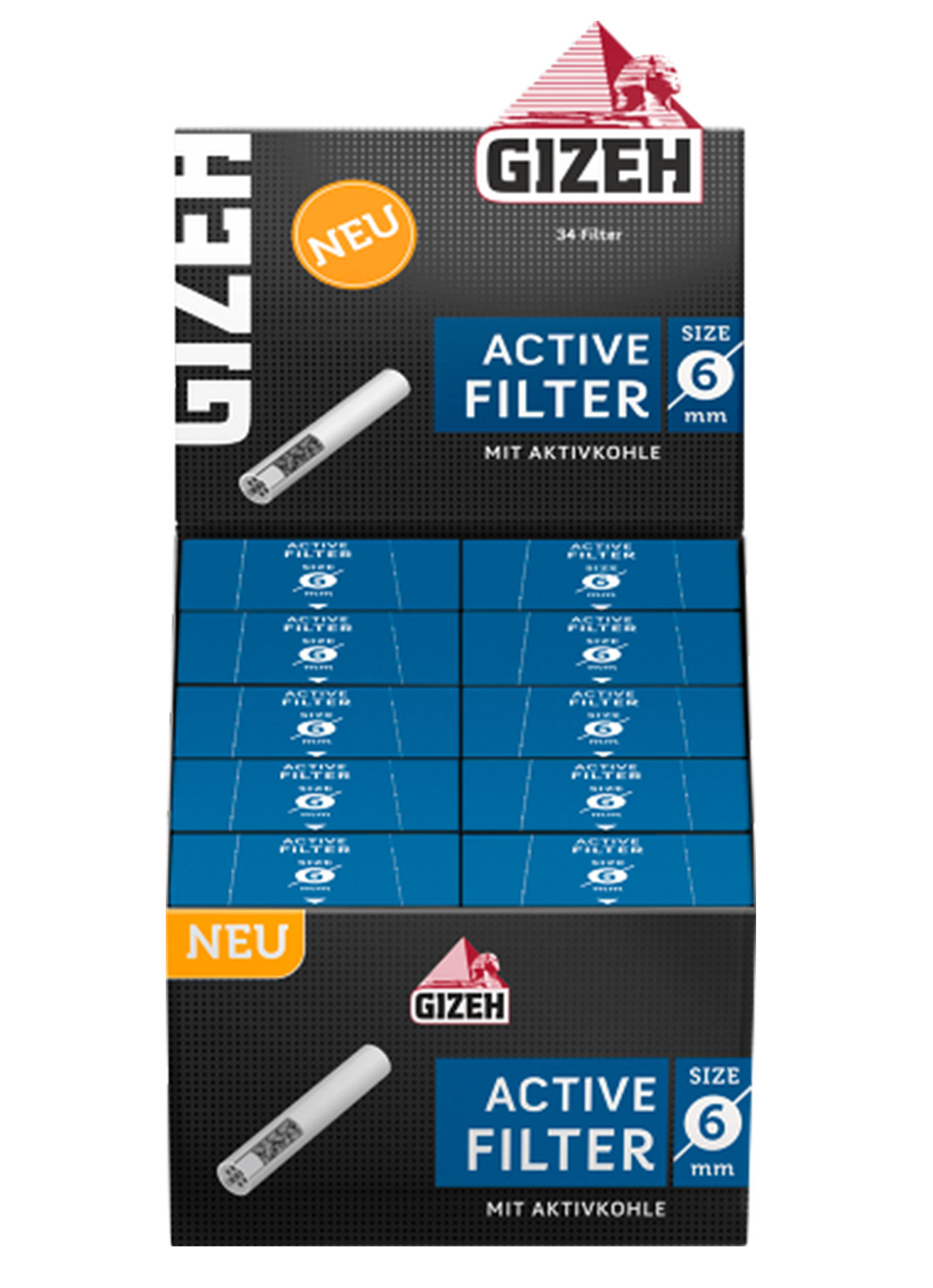Gizeh Black Active Filters