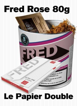 Fred Rose Tobacco and King Size Slim + tips